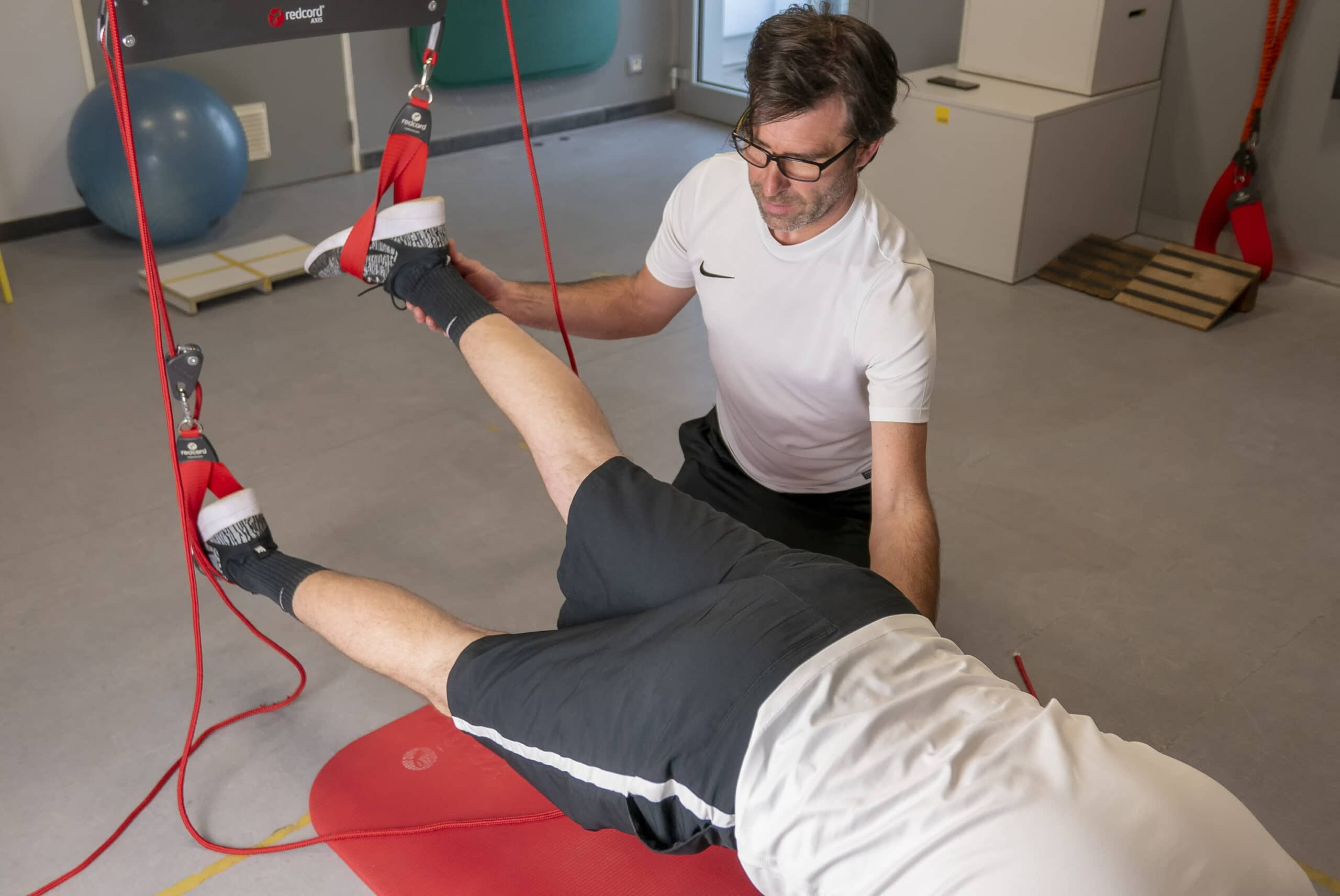 Redcord | Rehab and Prevention | Praktijk voor kinesitherapie, personal coaching, blessurepreventie Wetteren